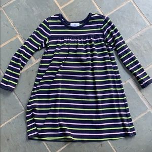 Hanna Andersson size 110 long sleeve dress. EUC